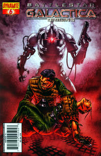 Cover Thumbnail for Battlestar Galactica: Origins (Dynamite Entertainment, 2007 series) #6 [Art Cover - Jonathan Lau]