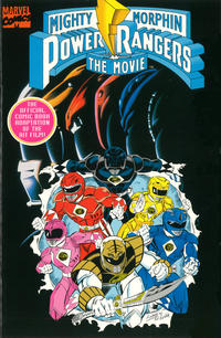 Cover Thumbnail for Mighty Morphin' Power Rangers: The Movie, Comic Adaptation (Marvel, 1995 series)