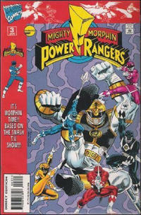 Cover Thumbnail for Saban's Mighty Morphin Power Rangers (Marvel, 1995 series) #3