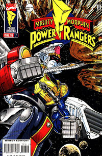 Cover Thumbnail for Saban's Mighty Morphin Power Rangers (Marvel, 1995 series) #7