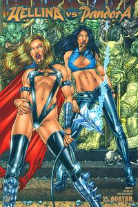 Cover Thumbnail for Hellina vs Pandora (Avatar Press, 2003 series) #0 [Bad Ass Babes]