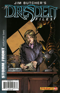 Cover Thumbnail for Jim Butcher's the Dresden Files: Storm Front (Dynamite Entertainment, 2010 series) #3