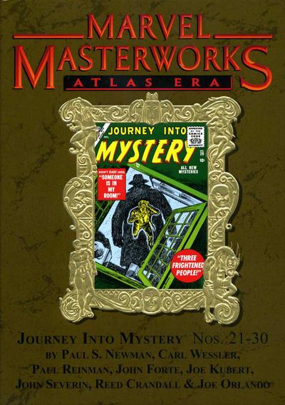 Cover for Marvel Masterworks: Atlas Era Journey Into Mystery (Marvel, 2008 series) #3 [Regular Edition]
