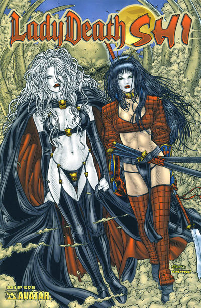 Cover for Lady Death / Shi (Avatar Press, 2007 series) #0 [Premium]
