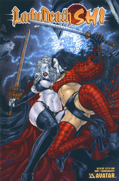 Cover for Lady Death / Shi (Avatar Press, 2007 series) #1