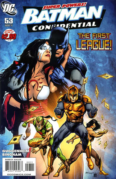 Cover for Batman Confidential (DC, 2007 series) #53