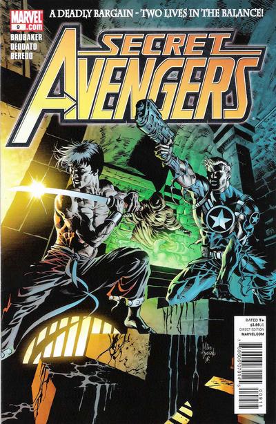 Cover for Secret Avengers (Marvel, 2010 series) #9