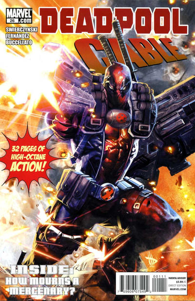Cover for Deadpool & Cable (Marvel, 2011 series) #26