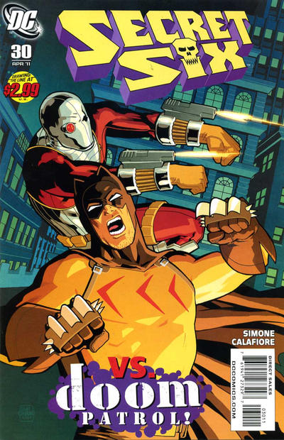 Cover for Secret Six (DC, 2008 series) #30