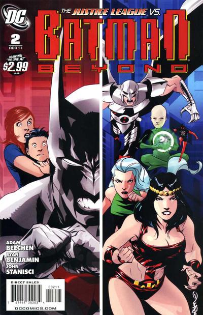 Cover for Batman Beyond (DC, 2011 series) #2