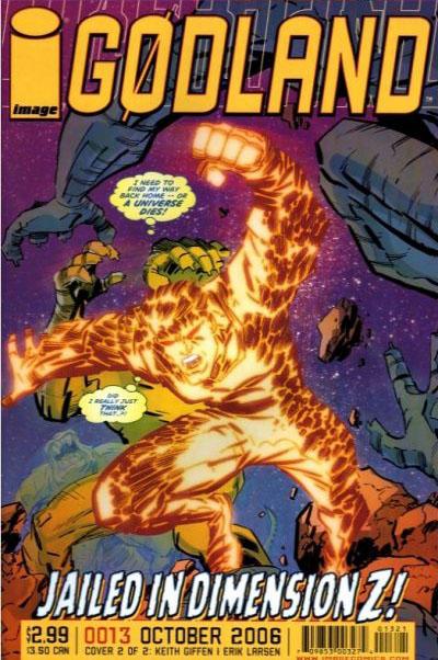 Cover for Godland (Image, 2005 series) #13