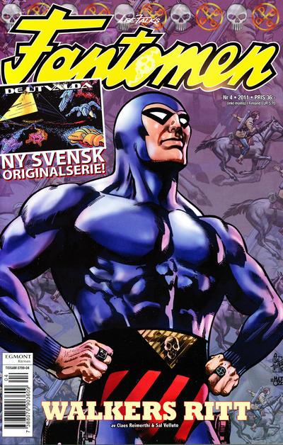 Cover for Fantomen (Egmont, 1997 series) #4/2011