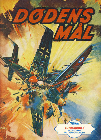 Cover for Commandoes (Fredhøis forlag, 1973 series) #17