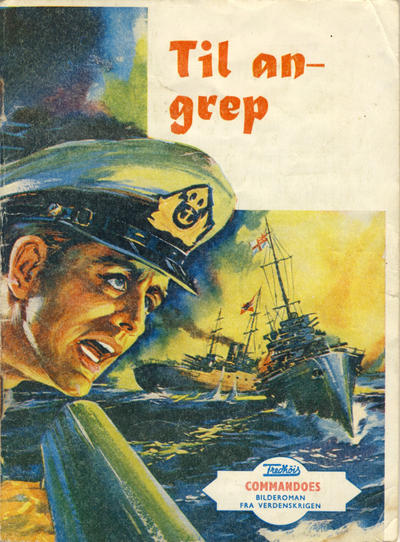 Cover for Commandoes (Fredhøis forlag, 1973 series) #19