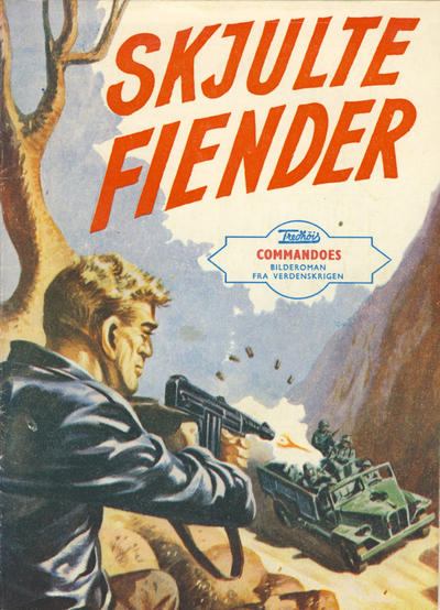 Cover for Commandoes (Fredhøis forlag, 1973 series) #22