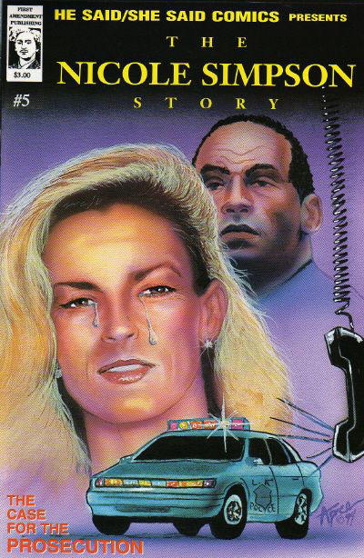 Cover for He Said/She Said Comics (First Amendment Publishing, 1993 series) #5
