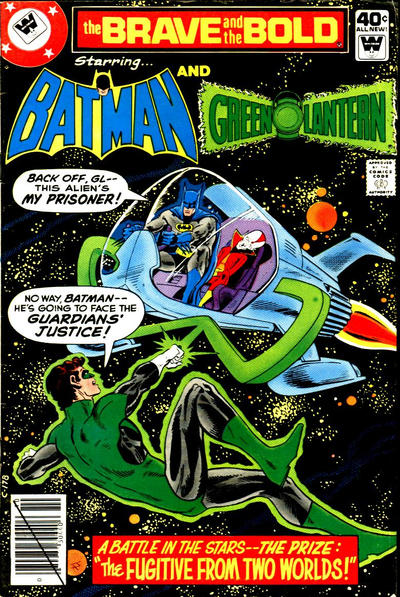 Cover for The Brave and the Bold (DC, 1955 series) #155 [Whitman]