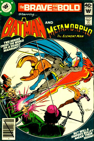 Cover for The Brave and the Bold (DC, 1955 series) #154 [Whitman]