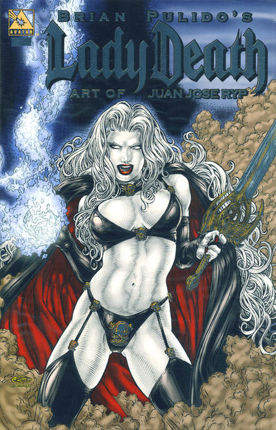Cover for Brian Pulido's Lady Death: Art of Juan Jose Ryp (Avatar Press, 2007 series)
