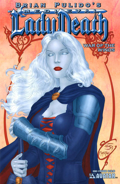 Cover for Brian Pulido's Medieval Lady Death: War of the Winds (Avatar Press, 2006 series) #4