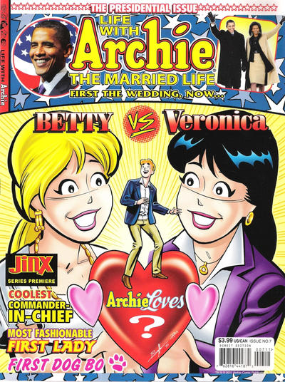 Cover for Life with Archie (Archie, 2010 series) #7