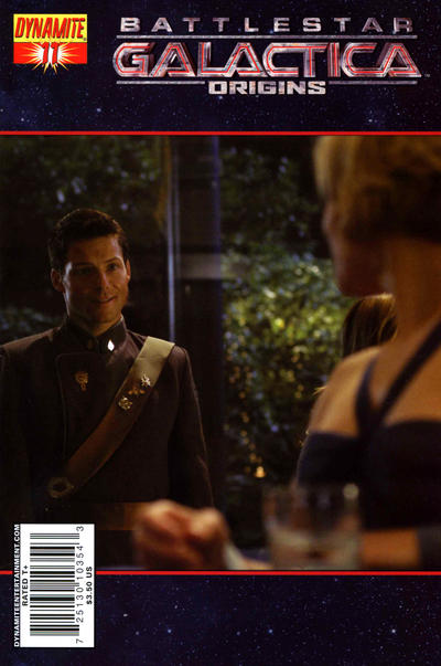 Cover for Battlestar Galactica: Origins (Dynamite Entertainment, 2007 series) #11 [Art Cover]