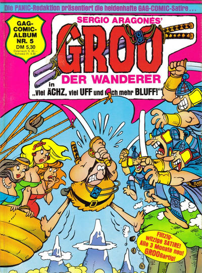 Cover for Groo der Wanderer (Condor, 1984 series) #5