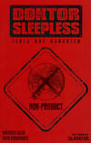 Cover for Doktor Sleepless (Avatar Press, 2007 series) #2 [Warning Sign Cover]