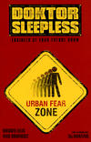 Cover for Doktor Sleepless (Avatar Press, 2007 series) #9 [Warning Sign Cover]
