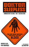 Cover for Doktor Sleepless (Avatar Press, 2007 series) #10 [Warning Sign Cover]