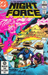 Cover for The Night Force (DC, 1982 series) #7 [Direct-Sales]