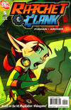 Cover for Ratchet & Clank (DC, 2010 series) #5