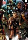 Cover for Avengers (Marvel, 2010 series) #7 [Djurdjevic Gatefold Variant]