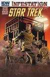Cover for Star Trek: Infestation (IDW, 2011 series) #1 [Cover B]