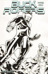 Cover Thumbnail for Buck Rogers Annual (2011 series) #1 [Black and White Variant]