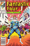 Cover for Fantastic Four (Marvel, 1961 series) #302 [Newsstand Edition]