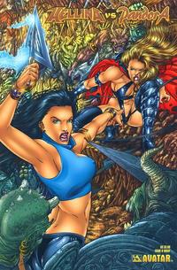 Cover Thumbnail for Hellina vs Pandora (Avatar Press, 2003 series) #0 [Wrap]