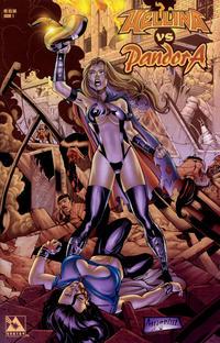 Cover Thumbnail for Hellina vs Pandora (Avatar Press, 2003 series) #1