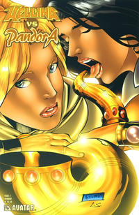 Cover Thumbnail for Hellina vs Pandora (Avatar Press, 2003 series) #2 [Amorim]