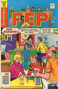 Cover Thumbnail for Pep (Archie, 1960 series) #321
