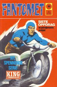 Cover Thumbnail for Fantomet (Semic, 1976 series) #11/1977