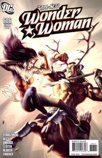 Cover Thumbnail for Wonder Woman (DC, 2006 series) #606 [Alex Garner Variant]