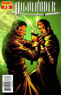 Cover Thumbnail for Highlander (Dynamite Entertainment, 2006 series) #6 [Pat Lee Cover]