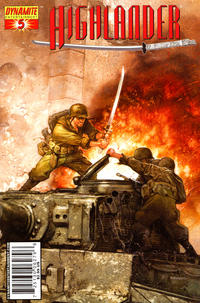 Cover Thumbnail for Highlander (Dynamite Entertainment, 2006 series) #5 [Cover C Dave Dorman]