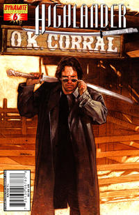 Cover Thumbnail for Highlander (Dynamite Entertainment, 2006 series) #6 [Dave Dorman Cover]