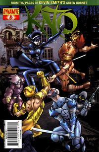 Cover Thumbnail for Kato (Dynamite Entertainment, 2010 series) #6 [Ale Garza Cover]