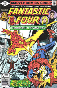 Cover Thumbnail for Fantastic Four (Marvel, 1961 series) #207 [Direct]