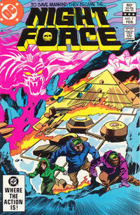 Cover Thumbnail for The Night Force (DC, 1982 series) #7 [Direct]