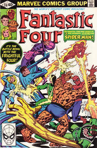 Cover Thumbnail for Fantastic Four (Marvel, 1961 series) #218 [Direct Edition]