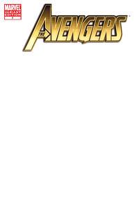 Cover Thumbnail for Avengers (Marvel, 2010 series) #7 [Blank Cover Variant]